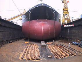 Корабельный док или судовой док — инженерное сооружение для постройки, ремонта и хранения судов, в котором проводится большинство необходимых работ с подводными частями корпуса.