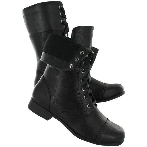 Hush Puppies Womens MOTIVE ANKLE Black Combat Boots 506818 ❤ liked on Polyvore featuring shoes, boots, ankle booties, ankle boots, short black boots, combat boots, combat booties and bootie boots