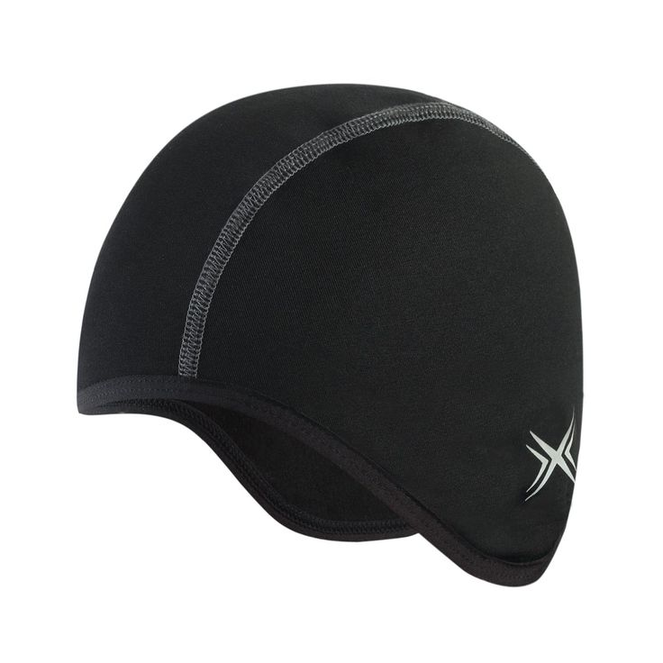 Baleaf Thermal Skull Cap Helmet Liner Black. 90% Polyester, 10% spandex. Soft fleece inside provides long lasting warmth and comfort. Stretchy, breathable fabric wick sweats away. Reflective elements for visibility in low light. One size fits most.