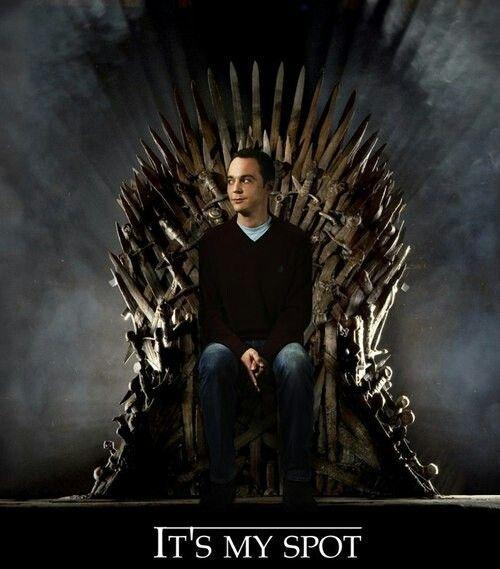Sheldon juego de tronos