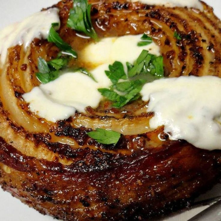 Smoked Bacon Wrapped French Vidalia Onion Recipe | Just A Pinch Recipes