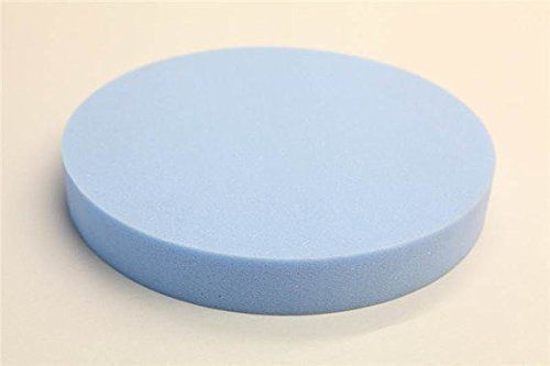 """Round Stool Seat Chair Upholstery Foam Pad Cushion. 16"""" Diameter By 3"""" #ImperialAcoustics"""
