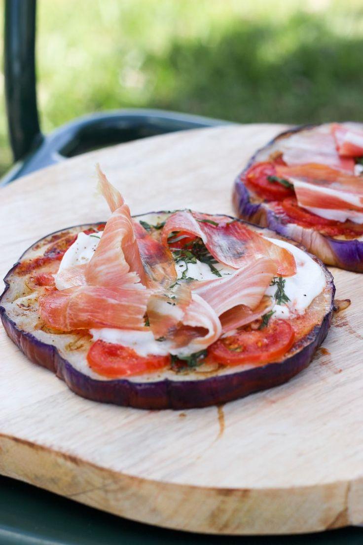 """Het lekkerste recept voor """"Pizza van aubergine"""" vind je bij njam! Ontdek nu meer dan duizenden smakelijke njam!-recepten voor alledaags kookplezier!"""