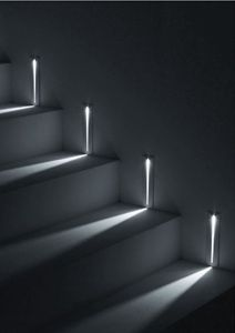 LED Illuminated Stairway