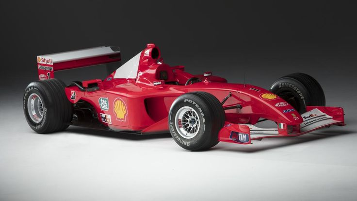 Michael Schumacher's championship-winning Ferrari F2001 is up for sale  ||  New house missing that modern artistic centerpiece to show what a cultured individual you are? Well look no further. Why have a fountain or a naked bronze sculpture when you can purchase a world-renowned Formula 1car? https://www.topgear.com/car-news/motorsport/michael-schumachers-championship-winning-ferrari-f2001-sale?utm_campaign=crowdfire&utm_content=crowdfire&utm_medium=social&utm_source=pinterest