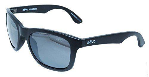 f13d214dcc Revo Huddie Eyewear - Unisex - Sunglasses Matte Black Frame Graphite Lens  RE 1000 21 GY