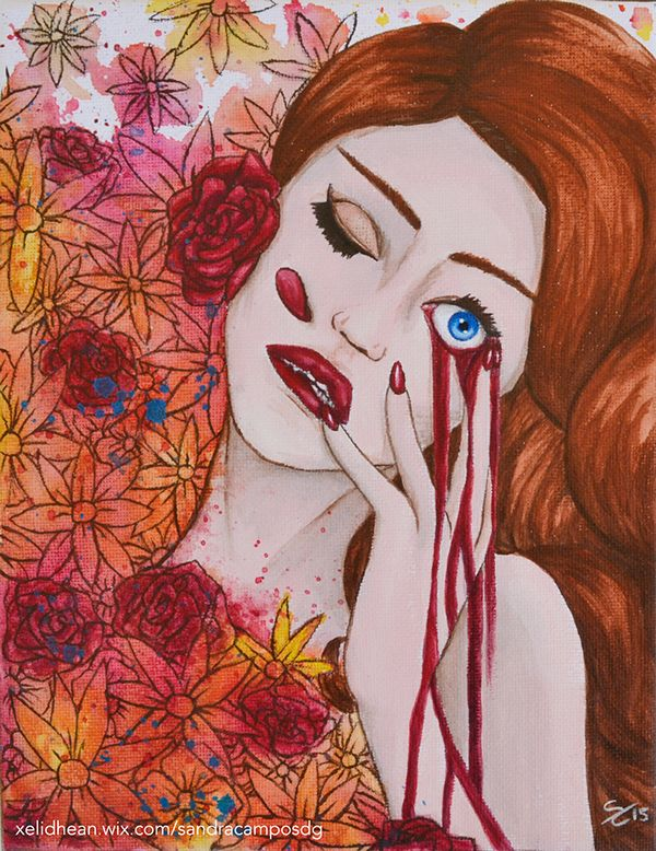 Belleza rota | Broken beauty on Behance