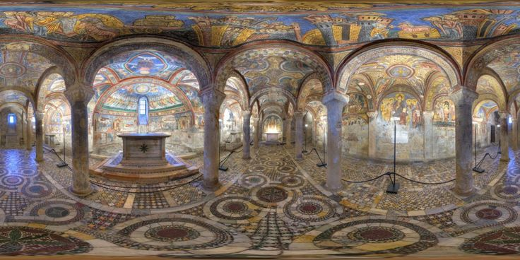 Anagni ... The Sistine Chapel of the Middle Ages!    Anagni Cripta.