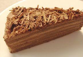 Egyszerű trüffel-torta