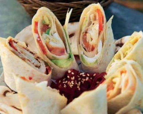 Aperitivos: tres ideas para preparar unos deliciosos 'mini-wraps'