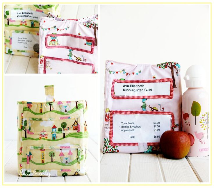 Free-insulated-lunch-bag-pattern | I just love the instructions..