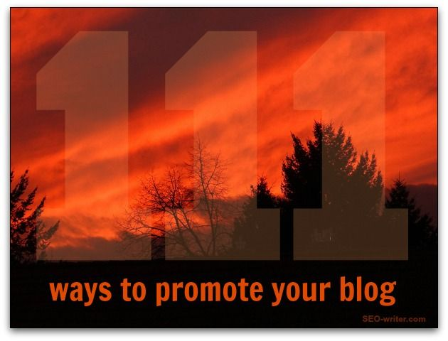 Tell me how many of these 111 tips you are already doing.  Then come back in one month and tell me how many you are doing by then.  Let's see who gives their blog promotion the biggest kick!
