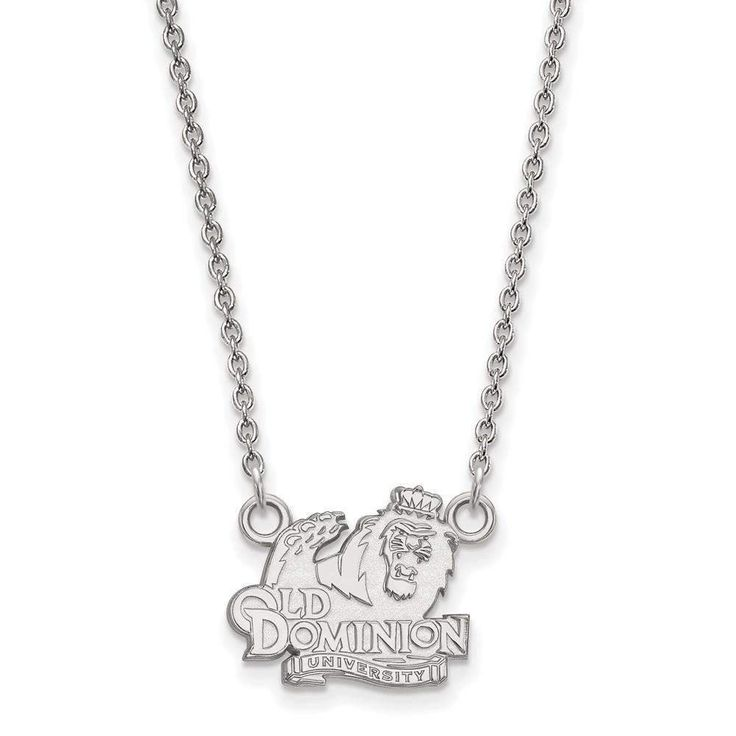 10kw LogoArt Old Dominion University Small Pendant w/Necklace