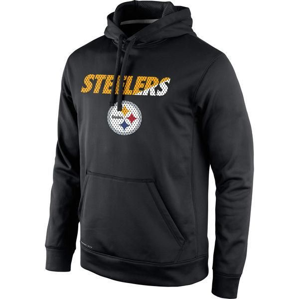 Pittsburgh Steelers Black Pullover Mens Sweatshirt
