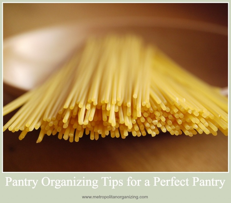 9 Tips For A Perfectly Organized Pantry