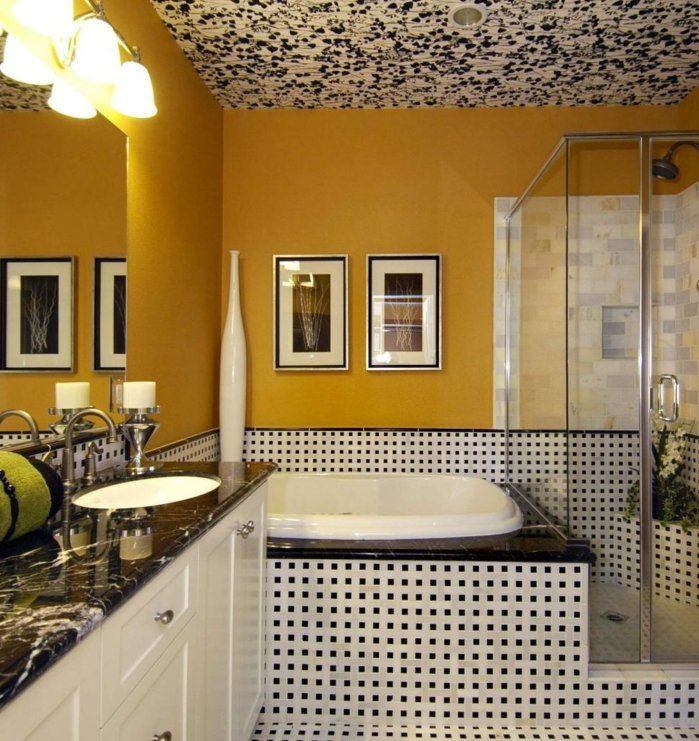 12 best Black and White Shower Curtains images on Pinterest Bath