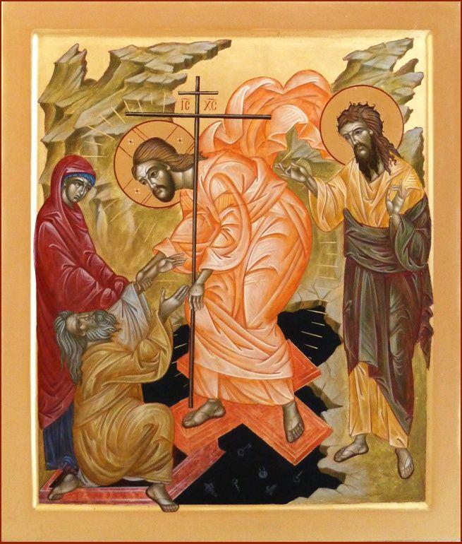 Zstąpienie do otchłani; Воскресение Христово - Сошествие во ад; The resurrection of Christ - Descent Into Hades/Harrowing of Hell