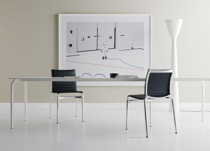 Tec #table & bigframe #leather  #design #interiordesign #interior #furniture #homedesign #living