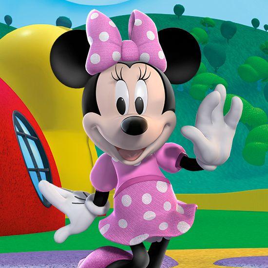 ミニーマウス ♪ミッキーマウスクラブハウスのアイデア♪