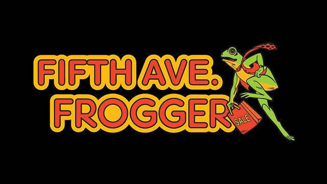 5th Ave Frogger by Tyler DeAngelo. 5th Ave Frogger is an attempt to imagine what the Frogger arcade game would be like if it was created today. This version of Frogger is similar to the original, except the traffic you dodge in 5th Ave Frogger is actually traveling down 5th Ave in New York City as you play.