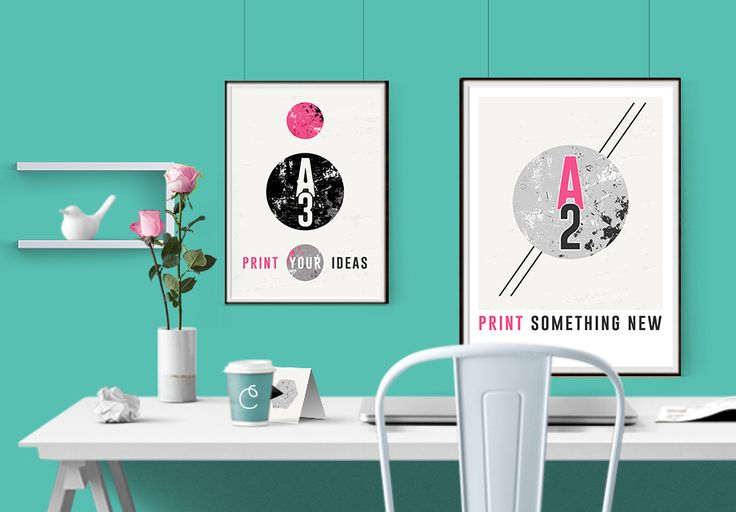 Inspiracje, projekt graficzne i wydruki — colour.me
