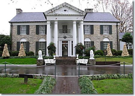 Graceland, The Tennessee home of Mr. Elvis Presley