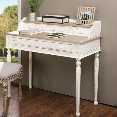 Wholesale Interiors Anjou Writing Desk & Reviews | Wayfair