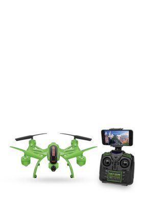 World Tech Toys Mini Orion Glow In The Dark 2.4Ghz 4.5Ch Live Feed Camera Rc Drone - Green - No Size
