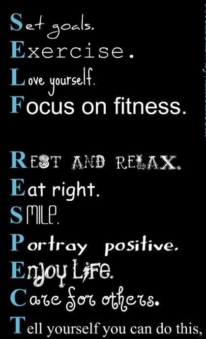 Self Respect...