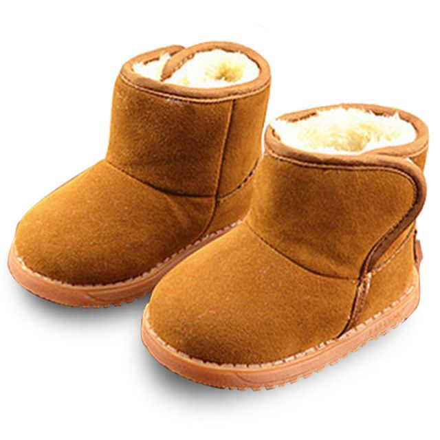 2016 Winter Boys Girls Snow Boots Children Kids Snow Boots With Plush Baby Kids Warm Fashion Boots Children Cotton Shoes Boots