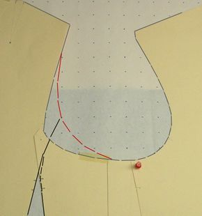 How to reshape armholes