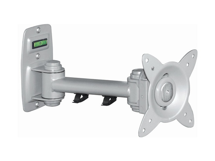 The Svensen SV8.0 Adjustable Swing Arm is a sturdy, easy to install mount for your LCD or LED TV.    A built-in sprit level and simple 3-point wall mounting makes fitting the arm easy. The slide-in TV attachment can be locked for security and allows quick screen removalwithout tools.    75x75mm and 100x100mm VESA mount points.