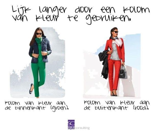 Lijk langer door een kolom van kleur te gebruiken. by roorda on Polyvore featuring mode