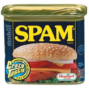Spam:  Canned Meat, 12 Oz