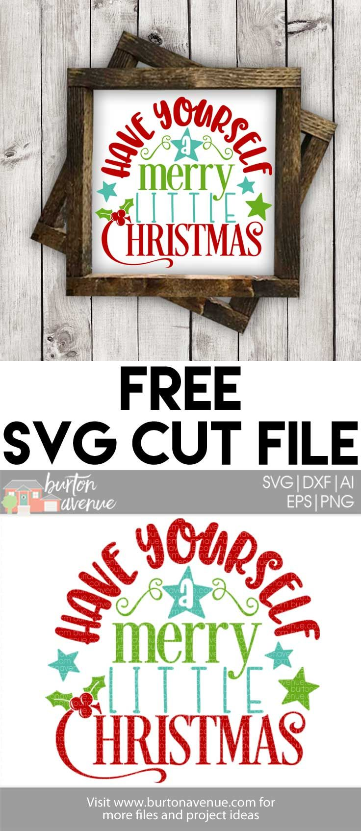 Free Christmas SVG Files for Silhouette and Cricut