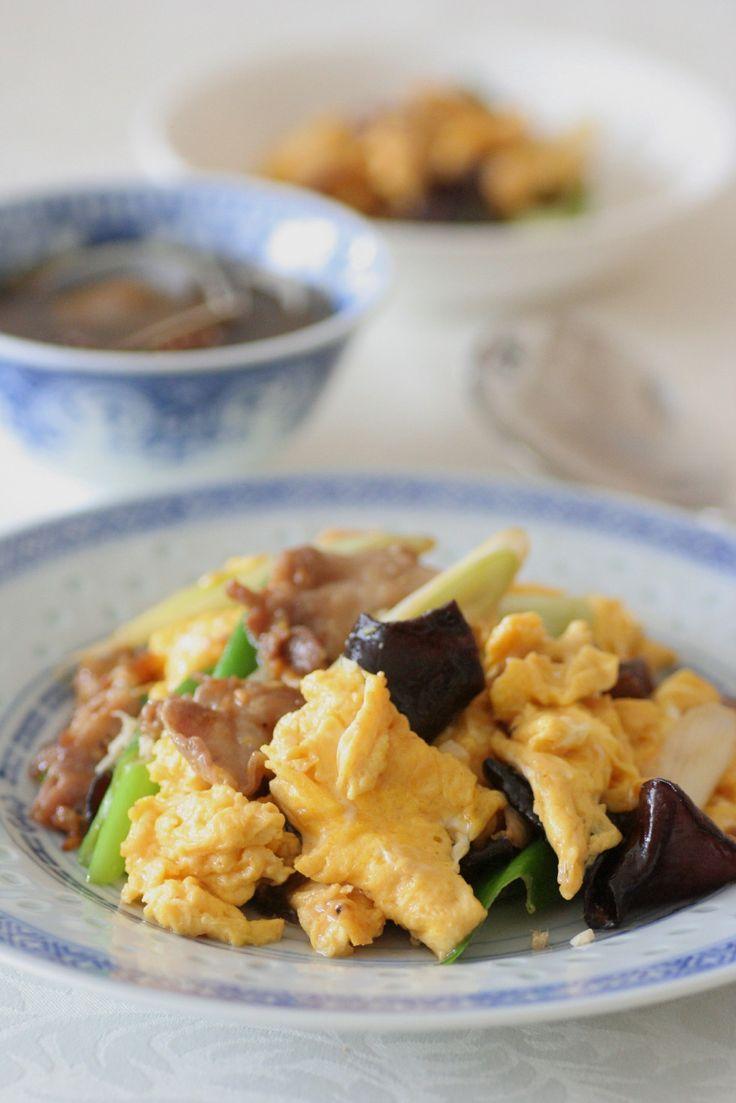 ハーブ卵ときくらげのオイスターソース炒め|きちんとレシピ|フードソムリエ