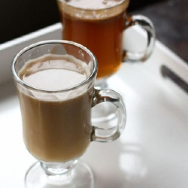 Hot Buttered Rum. Hot Buttered Rum Two Ways. #drinks