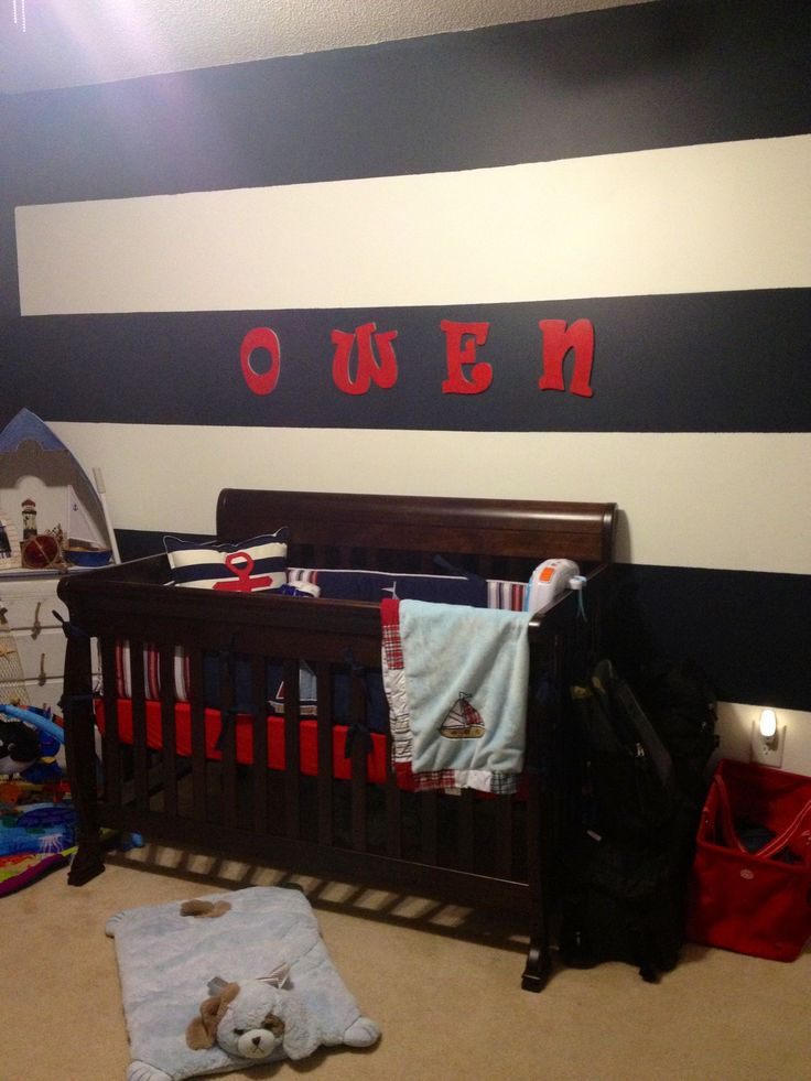 Red White Blue Bedroom Ideas Part - 43: 857 Best Nursery Ideas For Boy Images On Pinterest | Child Room, Baby Boy  Rooms And Bedroom Boys