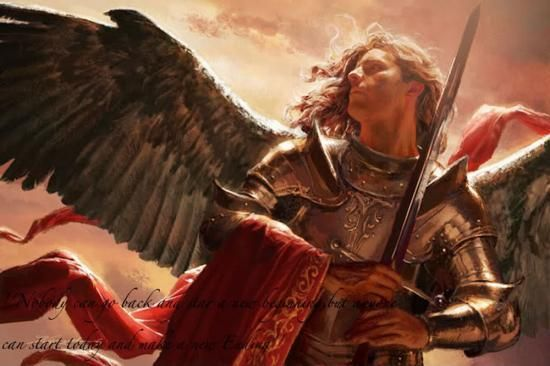 biblical male angels paintings archangels - Yahoo Image Search Results