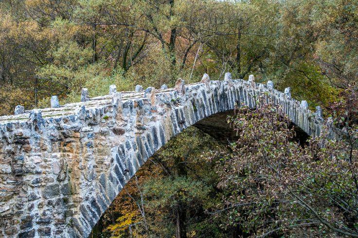 Νομός Καστοριάς - Δενδροχώρι - Γεφύρι Μπερίκι ή Δενδροχωρίου - ποταμός Αγραφιώτης