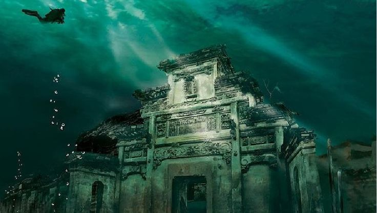 Qiandao Lake, didn't get to dive here. But! I would learn how to just to see the city below the water...... but boy howdy would i be scared shitless.
