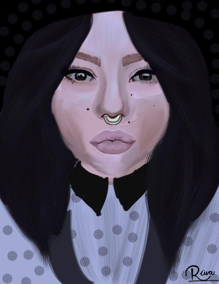 Septum Girl Artist Ruva