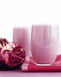Pomegranate-Banana Smoothie // More Great Breakfast Drinks: http://fandw.me/mJI #foodandwine