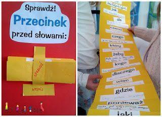 Edukacja językowa - Przecinek w harmonijce ~ Nauka i zabawa z dzieckiem - W mojej klasie