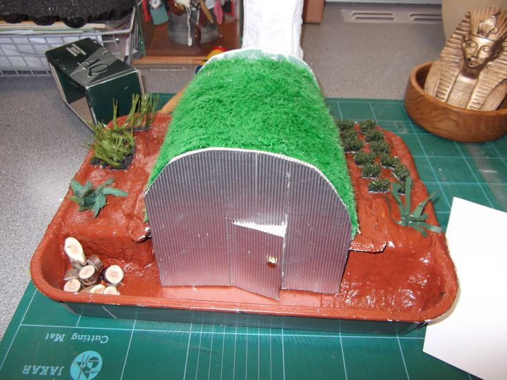 Anderson Shelter top