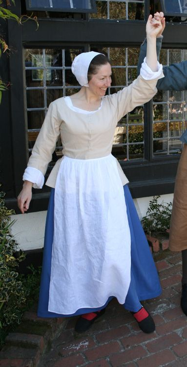 """1650s Dutch Peasant Dress. It's inspired by the """"peasants ..."""