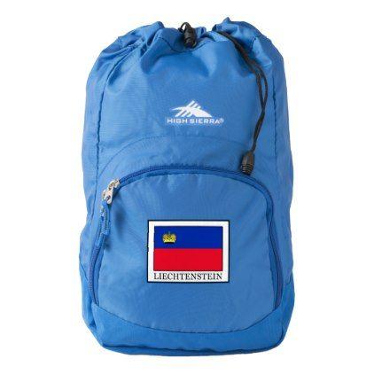 #Liechtenstein High Sierra Backpack - customized designs custom gift ideas