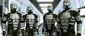 военный космический костюм