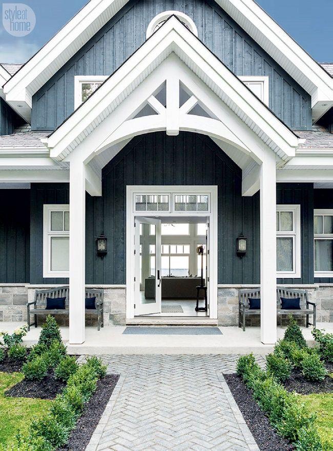 38 best Home Exterior Paint Colors images on Pinterest   Exterior ...