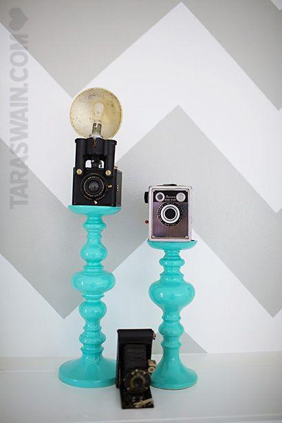 Love this idea from Tara Swain's new photography studio! This has a ton of ideas I will do.